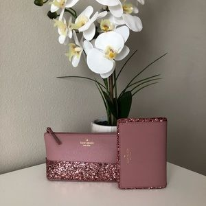 Kate Spade little Shiloh & Tellie Wallet ONLY 1!